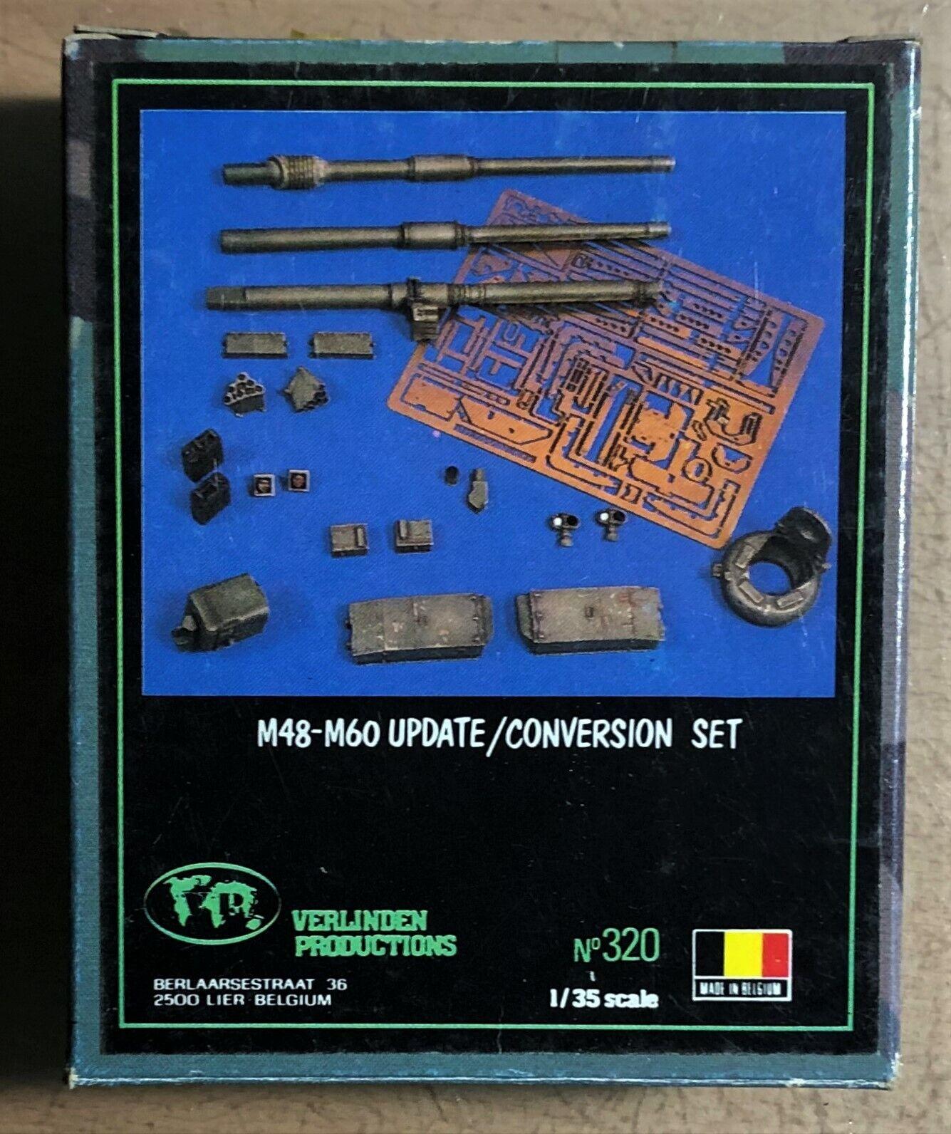 VERLINDEN PRODUCTIONS 320 - M48-M60 UPDATE     CONVERSION SET - 1 35 RESIN 2ac6d9