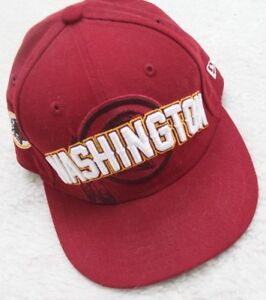 size 40 377cd db5c3 Image is loading New-Washington-Redskins-NFL-Football-Baseball-Hat-Fitted-