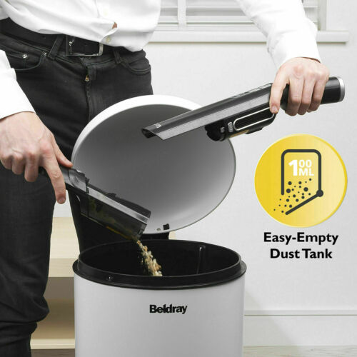 Beldray BEL0944SL Revo Cordless Handheld Vacuum Cleaner,11.1V, Black & Silver