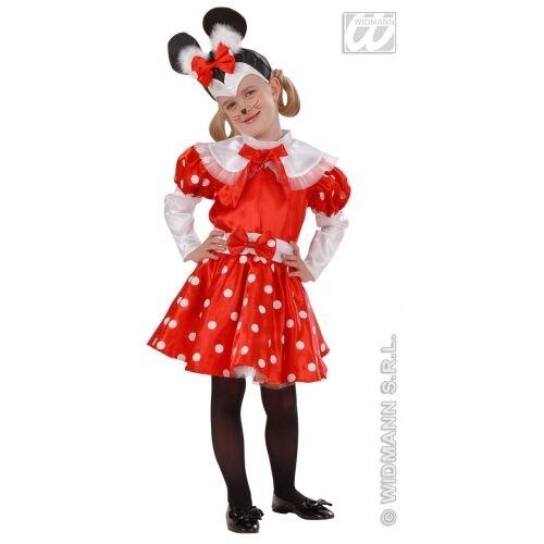 ddc84a1f7bbd Widmann 4914m Costume Topolina Minnie 1/2 2/3 98-104 cm | Acquisti ...