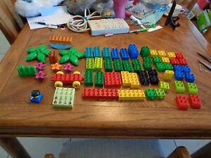 LEGO-Duplo-Dora-the-Explorer-from-7333-Includes-SOUND-BRICK-and-Bridge