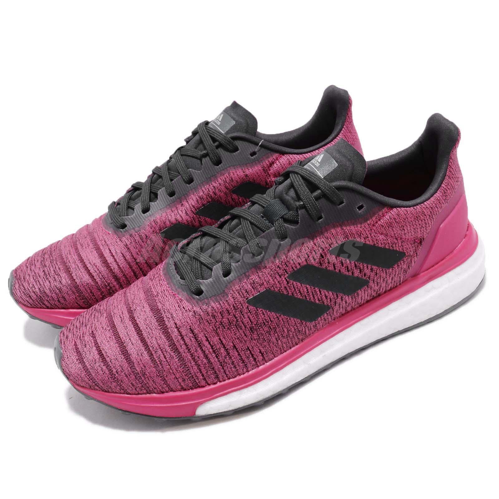 Adidas Solar Unidad W Boost Real Magenta De Cochebono Para mujeres Tenis Zapato de correr AQ0339