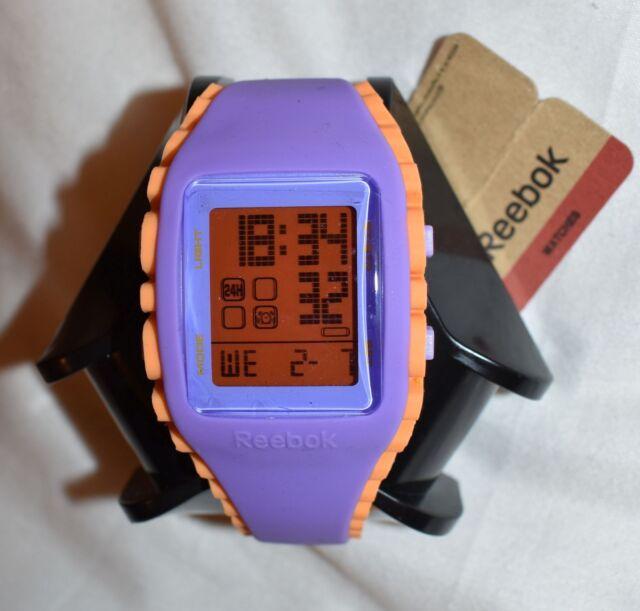 866e13d01c5dd Reebok Workout Z1g Watch Purple orange for sale online
