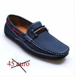 fddd4a6b01 Dettagli su SCARPE UOMO - mocassino classiche sportive eleganti blu 42 44  43 41 45 40