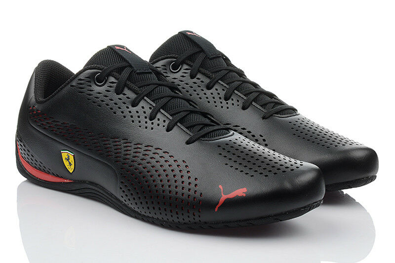 Puma Sf Drift Cat 5 Ultra Zapatos Hombre Ferrari Zapatillas Deportivas Negro