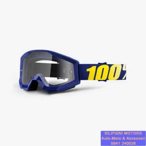 Maschera 100/% Strata Hope 461074 Occhiali Moto Cross Enduro