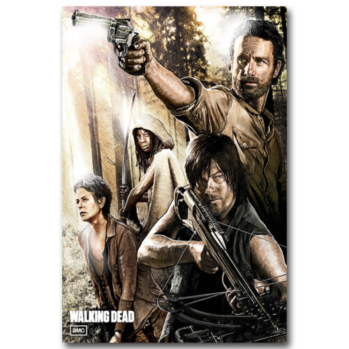 The Walking Dead 6 TV Series Silk Poster 12x18 20X30inch Daryl Rick 001