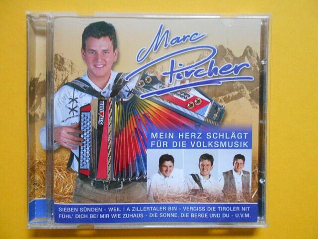 MARC PIRCHER > MEIN HERZ SCHLÄGT FÜR DIR VOLKSMUSIK > CD 2007