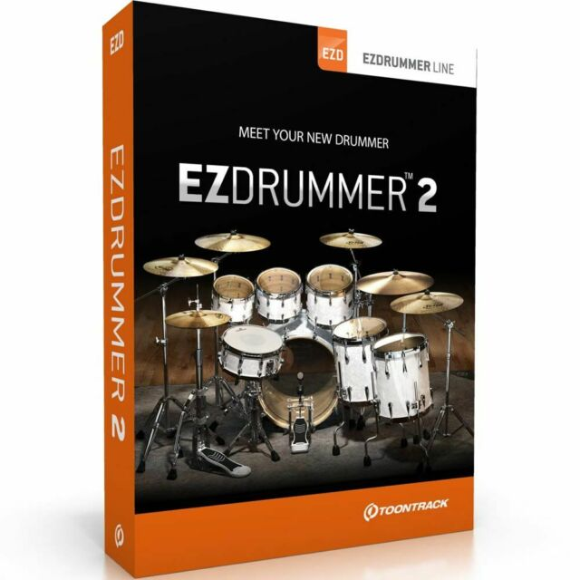Toontrack EzDrummer 2 Intuitive Drum Production Tool for Songwriters - ESD