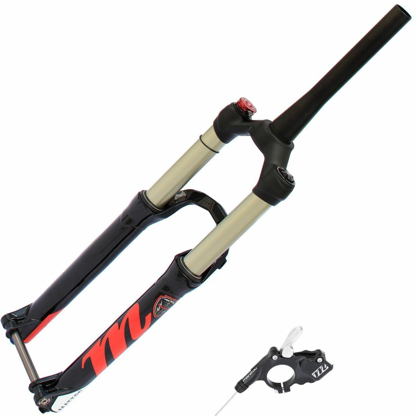 Manitou Mattoc Comp Mountain Bike Fork 27.5  130mm Travel 1.5  Tapered 15mm