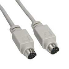 25 ft Mini Din 6 pin PS2 KVM Mouse Cable Male Male