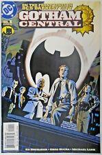 DC Batman Gotham Central #1 Comic Book Brubaker Rucka Lark 1st Print 2003
