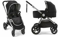 Mamas & Papas 2017 Ocarro Stroller & Bassinet Bundle in Black Brand New!!