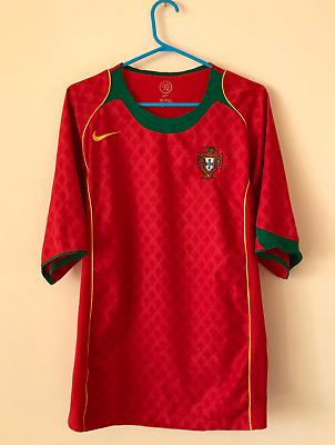 PORTUGAL NATIONAL TEAM 2004/2006 HOME FOOTBALL SHIRT JERSEY CAMISETA MAGLIA NIKE | eBay