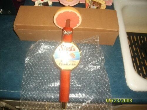 POINT BEER SIESTA KEY GRAPEFRUIT BEER TAP HANDLE KNOB BRAND NEW IN BOX 13 INCH