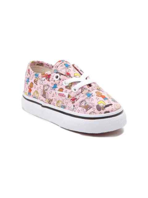 d6c864f843 VANS X Peanuts Authentic Dance Party Pink Vn0a38e7qq3 NWB Girls Baby ...