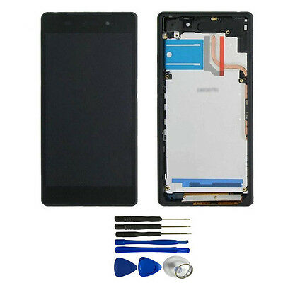 LCD Display Touch Screen Digitizer with Frame For Sony Xperia Z2 L50W D6503 New