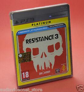 RESISTANCE-3-III-PS3-PLATINUM-nuovo-sigillato