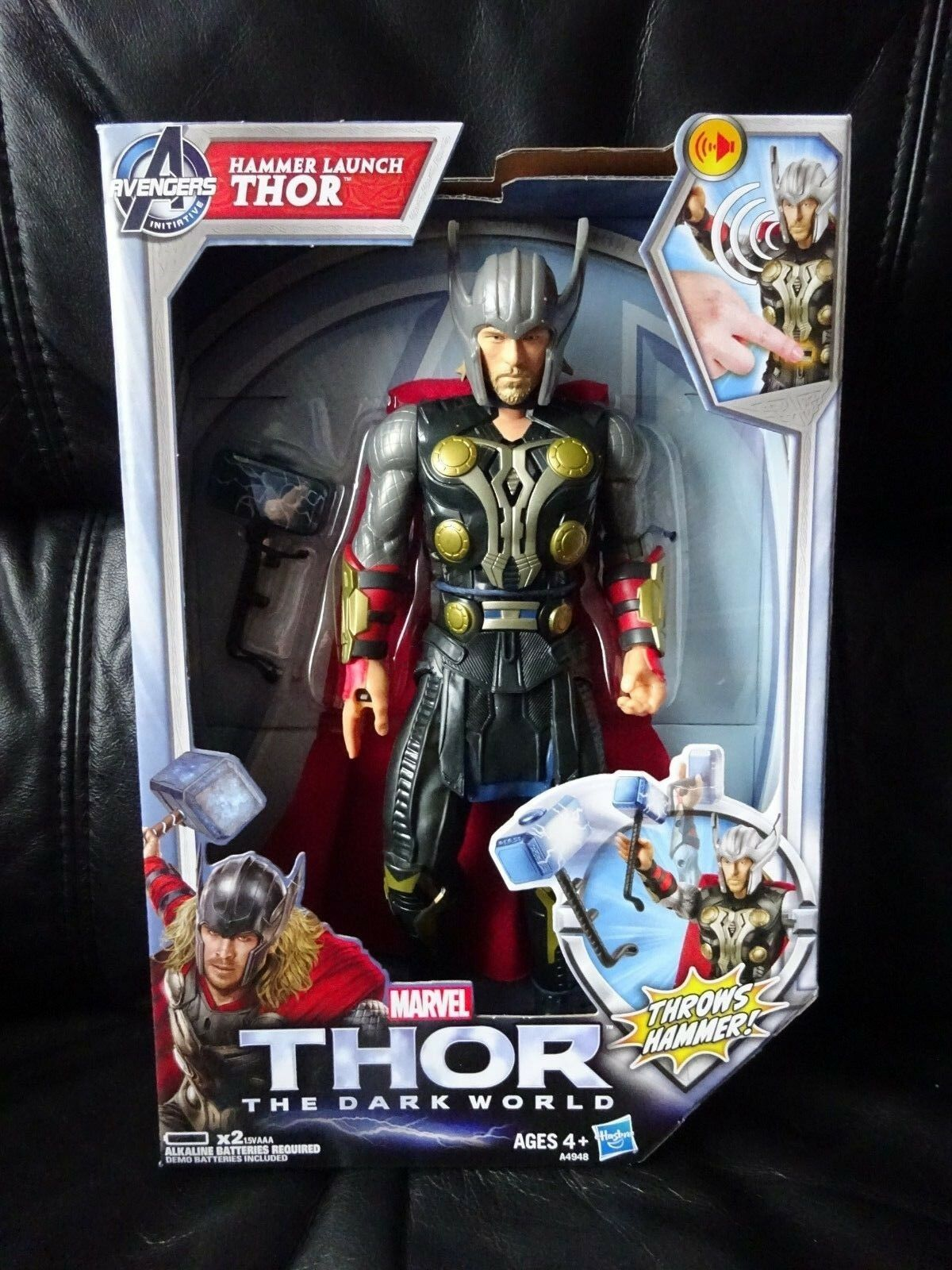 Marvel Thor Thor Thor The Dark World Hammer Launch THOR  Thor 11  Action Figure AVENGERS b4aa1b