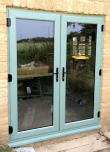 outlet store 0d7db bfd8e Details about Chartwell Green uPVC French Door / Patio Doors / 1210 x 2090  / BRAND NEW