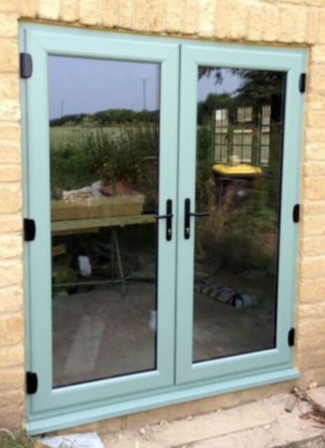 Chartwell Green Upvc French Door Patio Doors 1890mm X 2090mm Ebay
