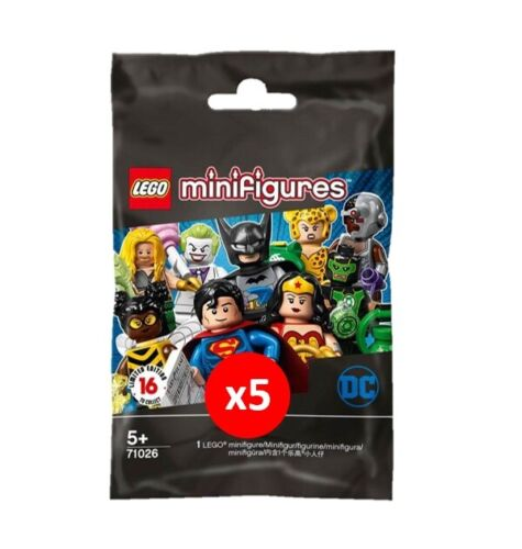 UK New//Sealed Lego 71026 Minifigures Blindbag DC Comics Assortment Bundles