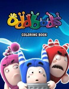 Oddbods Coloring Book Paperback 2020 Ebay