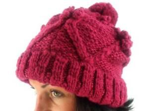 Hüte & Mützen Sammlung Hier O'neill Bommelmütze Wintermütze Beanie Sunne Pink Gestrickt Fleece Kleidung & Accessoires