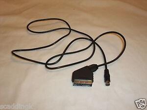 Sega-Saturn-RGB-Scart-Lead-Cable-AV-Brand-New