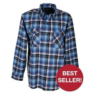 5-x-Milton-Closed-Front-Flannelette-Shirts-RRP-109-95-FREE-POST