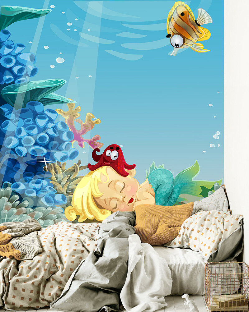 3D Ozean Mädchen 70 Tapete Tapeten Mauer Foto Familie Tapete Wandgemälde DE
