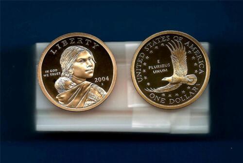 2004 S GEM PROOF Sacagawea Native American Dollar Roll of 20