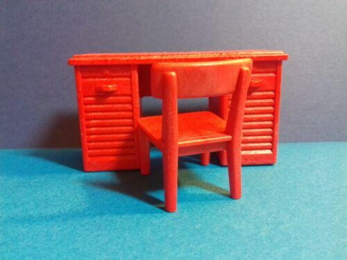 PLAYMOBIL Western Le bureau rouge du sheriff avec sa chaise