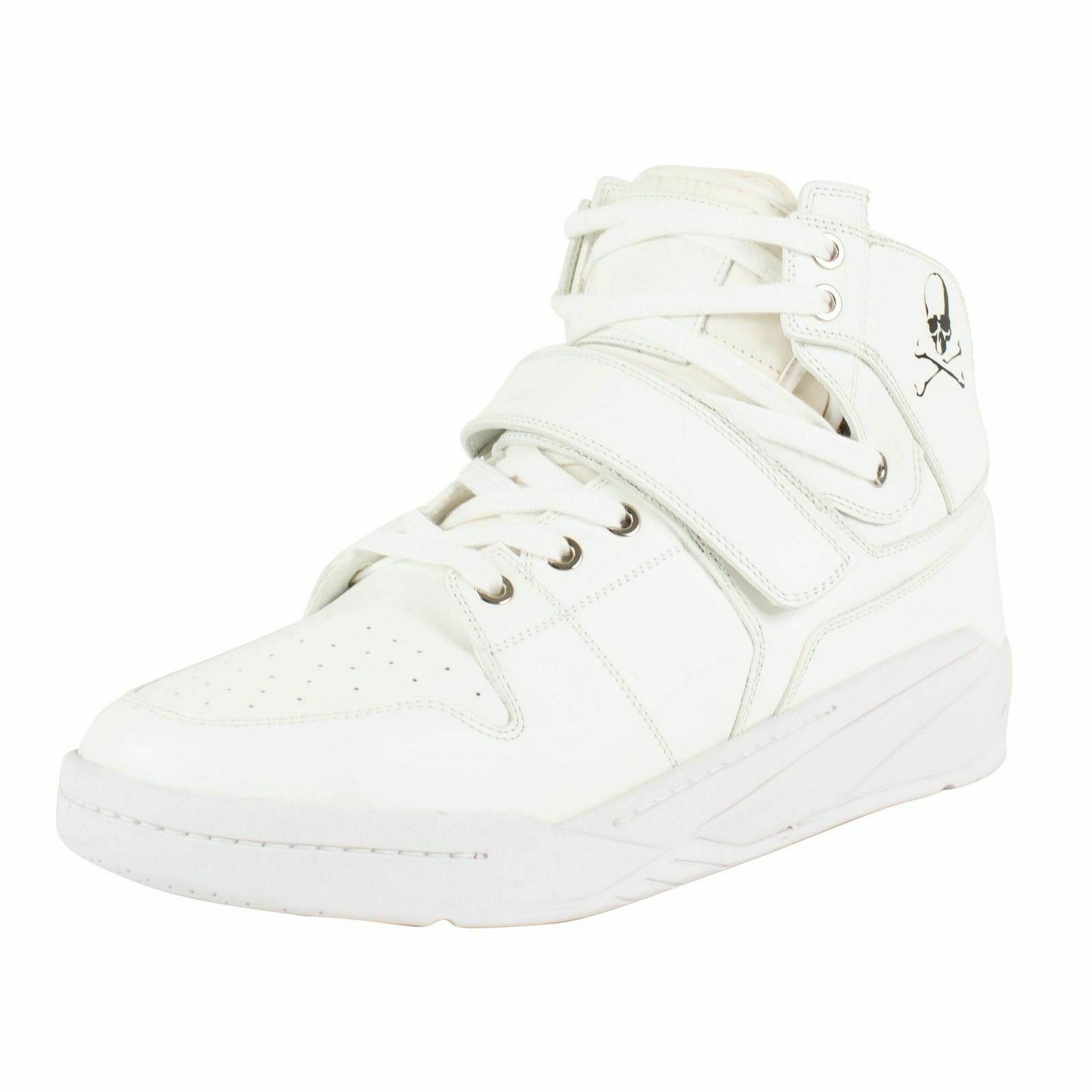 f4d2fd7f96ae NIB MASTERMIND SEARCHNDESIGN  MMJ  White Basket Sneakers shoes Size 10 43