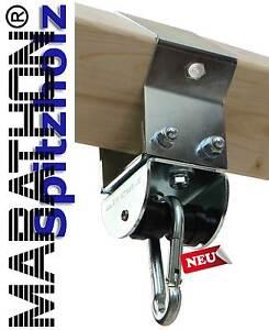 Schaukelschelle für Spitzholz WINNETOU 9 x 9cm mit MARATHON Rollengelenk