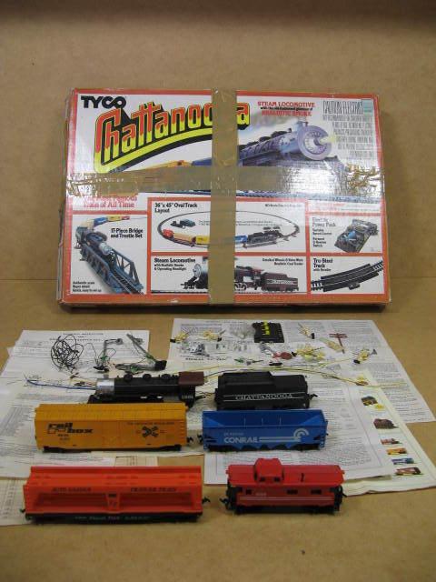 Tyco Chattanooga Choo Choo HO Partial Train Set  No Track No Trestle