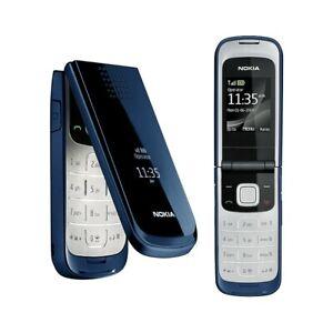Telephone-Cellulaire-Nokia-2720-Pli-Bleu-Gsm-Appareil-Photo-Bluetooth-Qualite