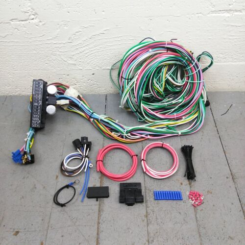 1967-1979 Ford Truck Wire Harness Upgrade Kit fits painless terminal fuse new