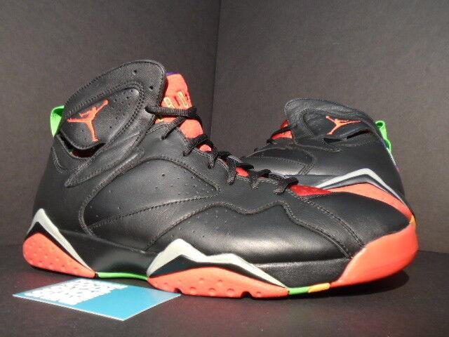 Nike Retro Air Jordan VII 7 Retro Nike MARVIN THE MARTIAN noir rouge vert PULSE Brouge 11.5 5d54c4