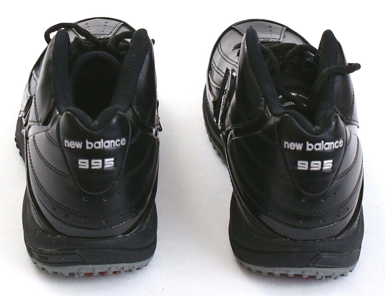 New Balance 995 Team Sports nero Mid Cut Football Football Football Turf scarpe Uomo NEW 8f35df