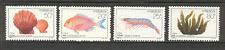 China 1992 pescado/Marina vida/Shell/naturaleza 4v Set (s1522)