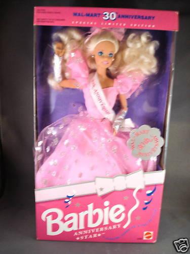 1992 Barbie Anniversario Star Wwe Wrestling 30th Anniversario