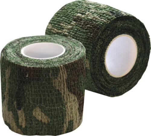 Nouveau camouflage furtif de dissimulation bande Wrap-Réutilisable K