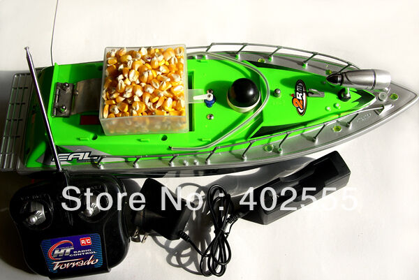 A0157 Petit Bateau Pêche à la Carpe Bait Boat Fishman RC Bouillettes à Boiles