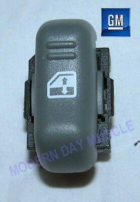 93-02 Firebird Passenger RH Side Gray Power Window Switch NEW GM 966