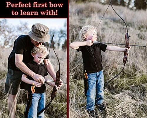 environ 6.35 kg Main Gauche Sud-Ouest de tir à l/'arc Tiny Tiger recourbé Takedown Bow 14 lb