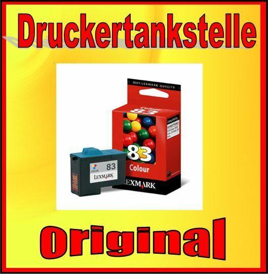 Original Cartridge Lexmark 83 X5100 X5130 X5150 X6100 Z55 Z65 Series Col 18L0042