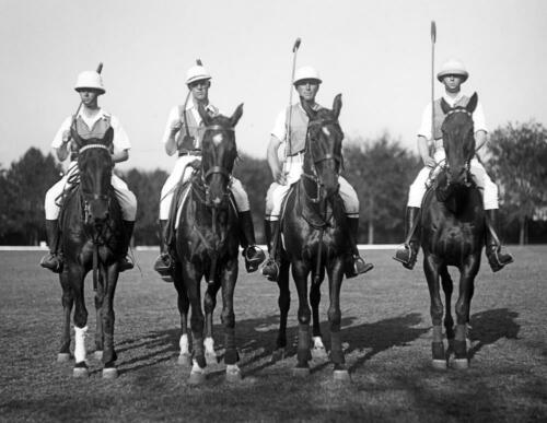 """1915-1923 Polo Players Fort Myer VA Old Photo 8.5/"""" x 11/"""" Reprint"""