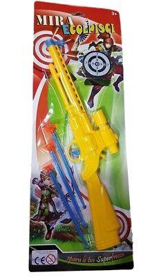 Soft Gun Hunter Fucile Con Frecce Gioco Giocattolo Bambini dfh