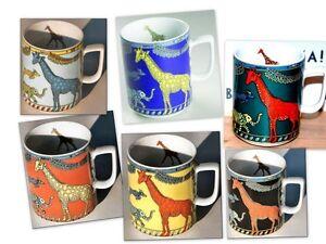 GIRAFFE-BOPLA-Porzellan-MAXITASSE-Mug-Cup-Becher-Tasse-Kaffee-Tee-Gluehwein-0-30l